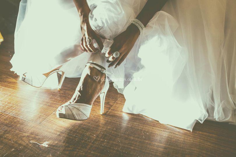 Preparação da noiva!