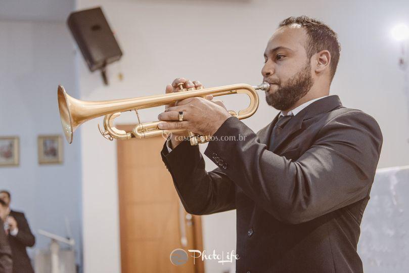 Dueto de trompetes