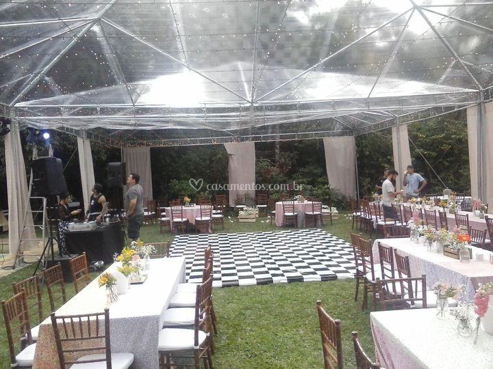 Tenda Cristal - Alto