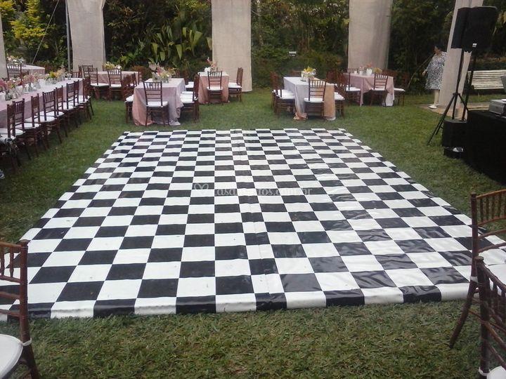 Piso xadrez
