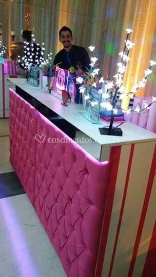 Bar Capitonê Pink