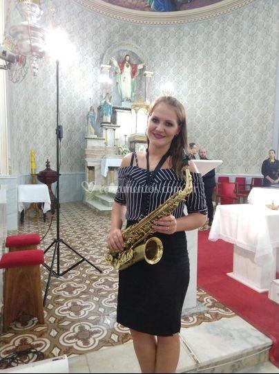 Sax em cerimônias