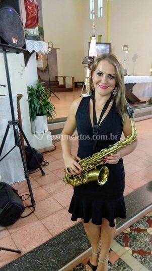 Saxofone em cerimônias