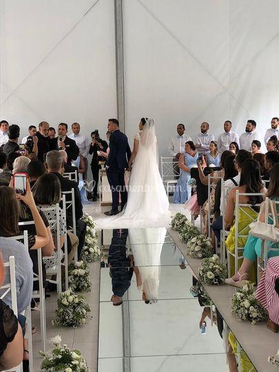 Tenda para cerimonia