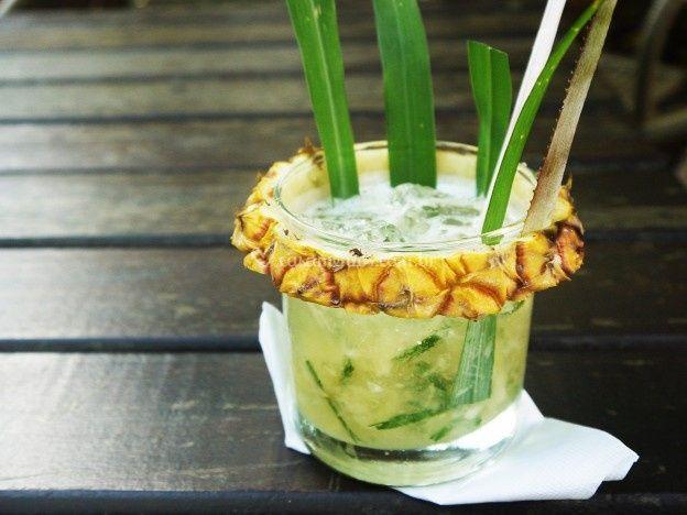 Caipiroska gourmet de abacaxi