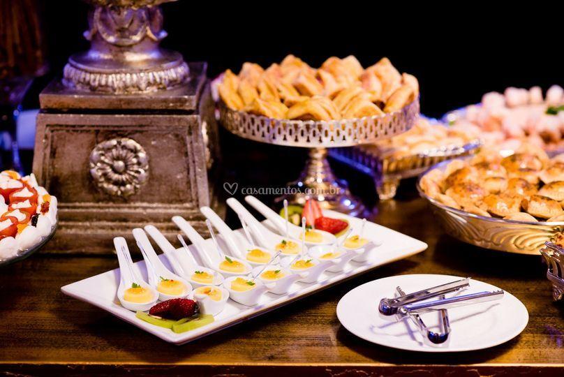 Mesa de Frios-Chef Zari Farias