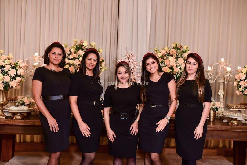 A equipe PERFEITA!!