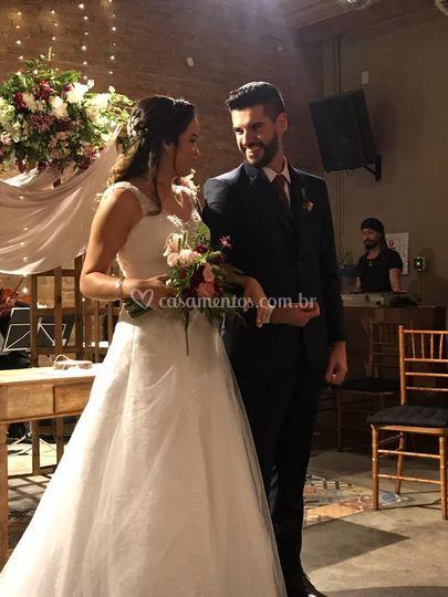 Enfim... Casados...