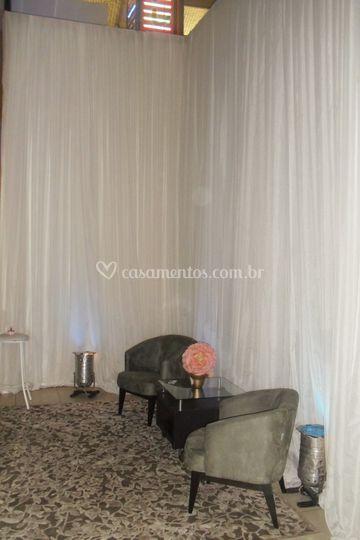 Revestimento tecido cortinado