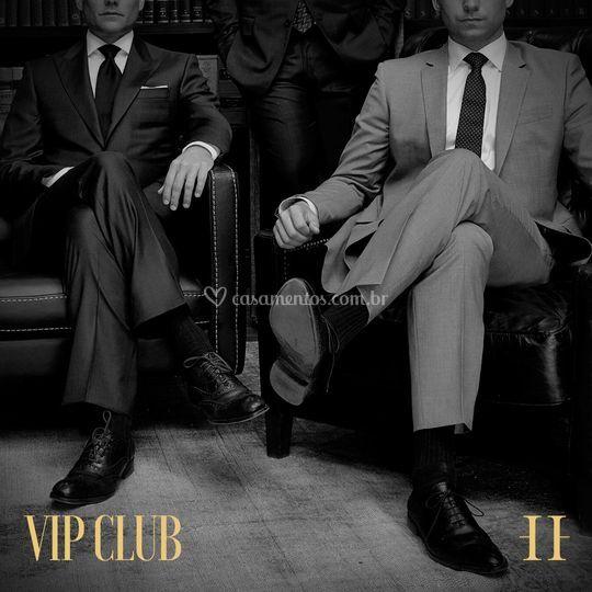 Um clube de homens elegantes