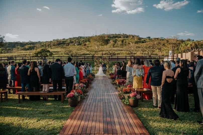 Cerimônia ao ar livre 2