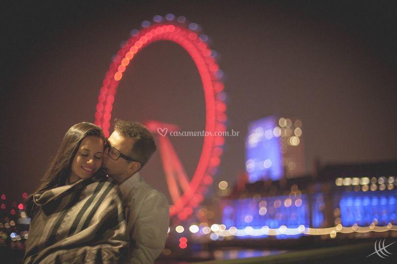 Ensaio Maria e Tony em Londres