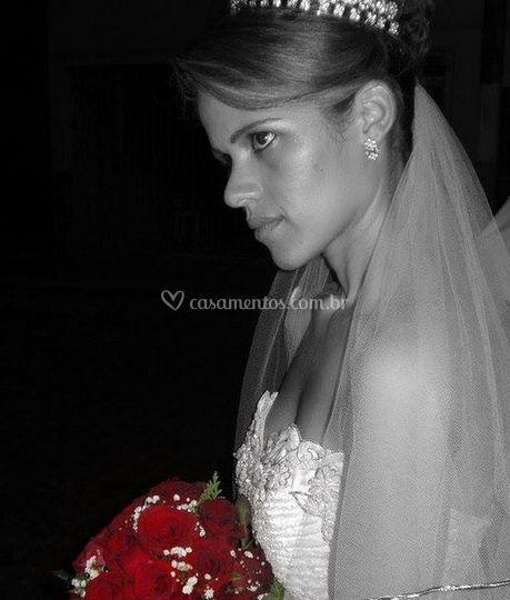 Uma noiva muito bonita