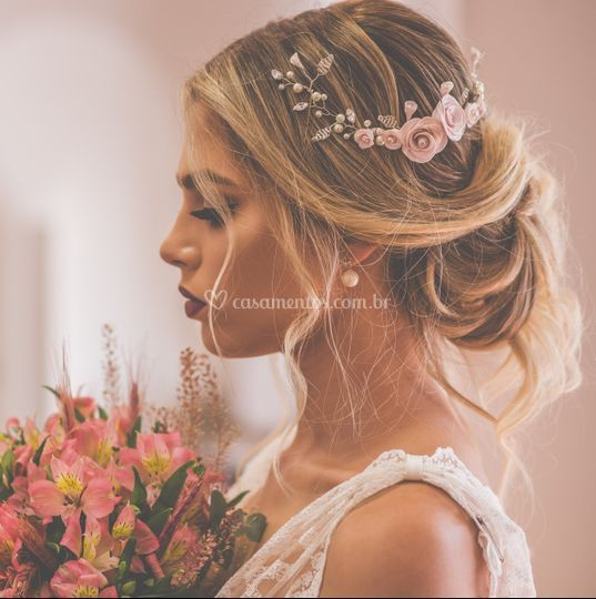 Arranjo de noiva aflorar
