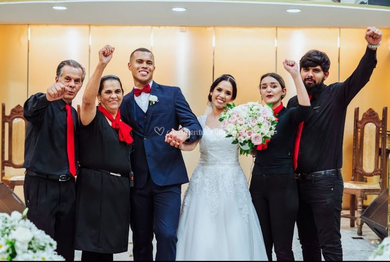 Casamento Michelle e Erick