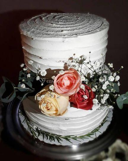 Trio de bolo casamento
