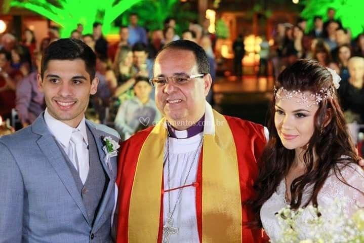 Celebrante Bispo Lorite