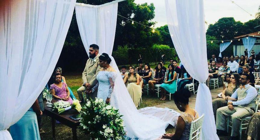 Noiva Geovana e Gustavo