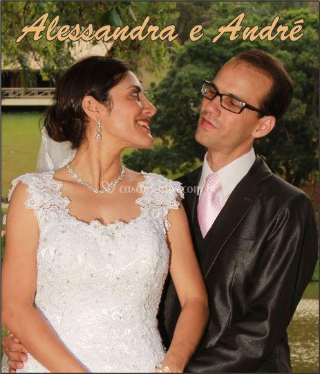 Alessandra e André