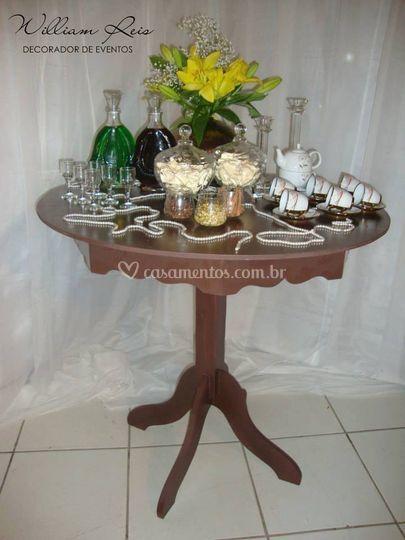 Mesa de chá