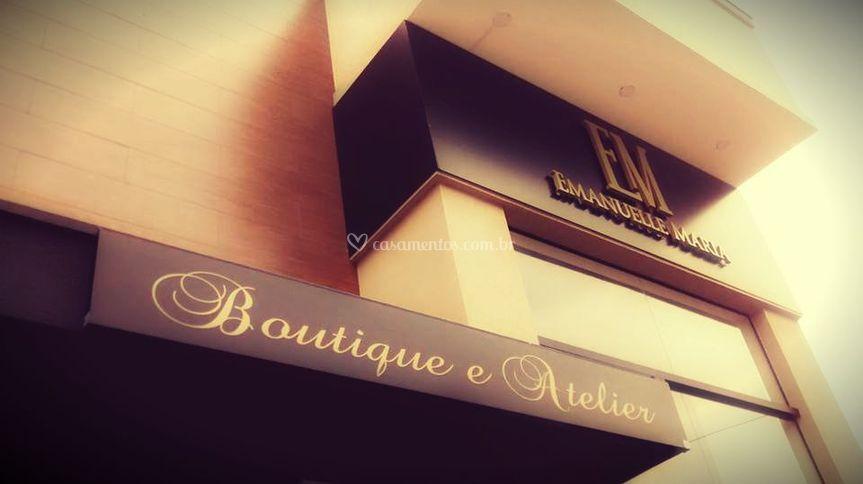 Fachada Boutique e Atelier