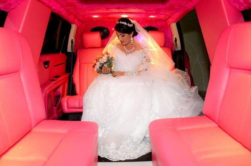 Limousine para noiva