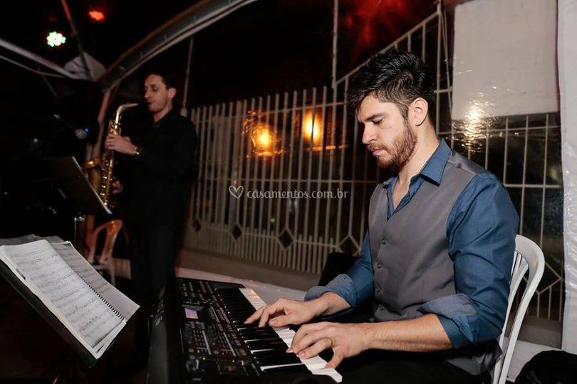 Duo piano e sax