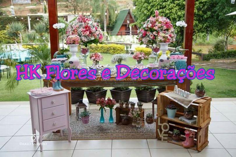 HK Flores e Decoraçoes