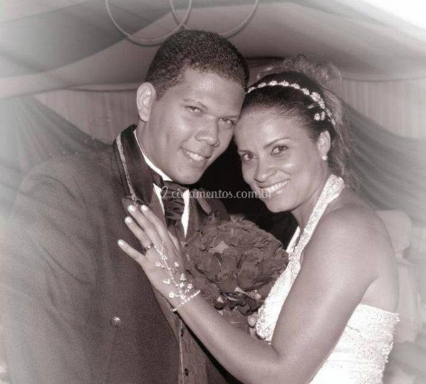 Fotografia do casal