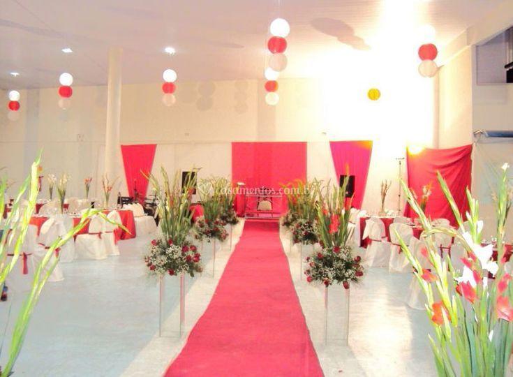 Altar montado