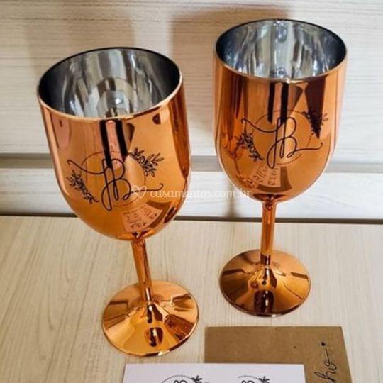 Taça Vinho Bronze