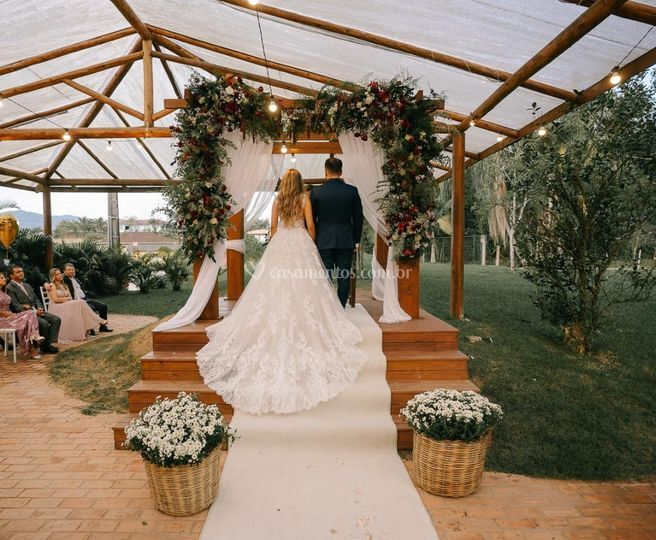 Deck cerimonia e tenda
