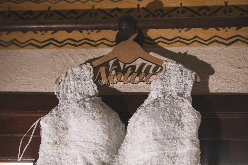 Cabide noiva