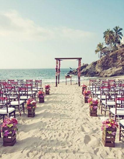 Cerimônia na Praia Toque Toque