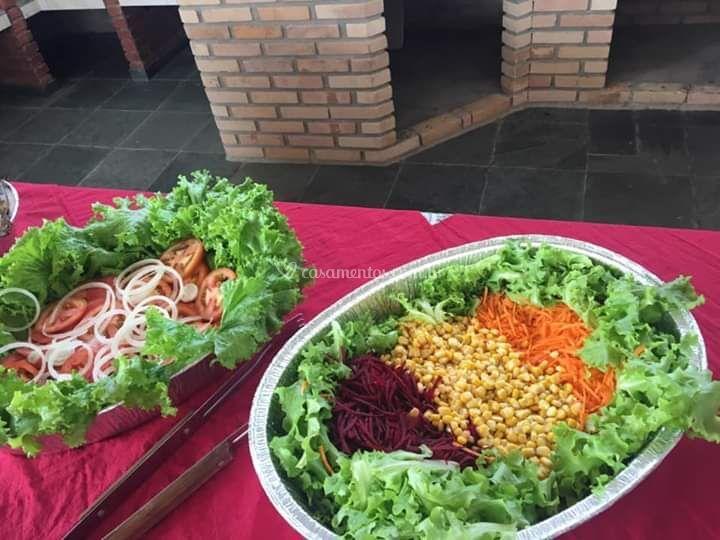 Salada de folhas