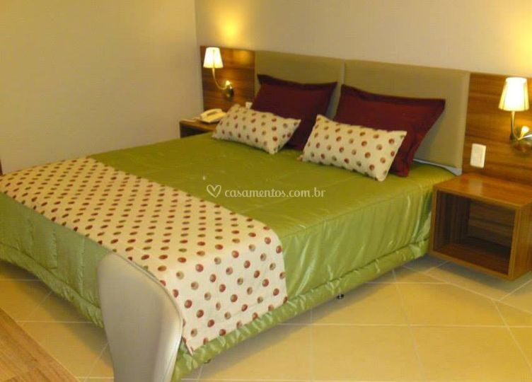 Jogo decorativo de cama