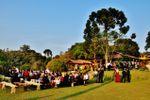 Convidados no gramado