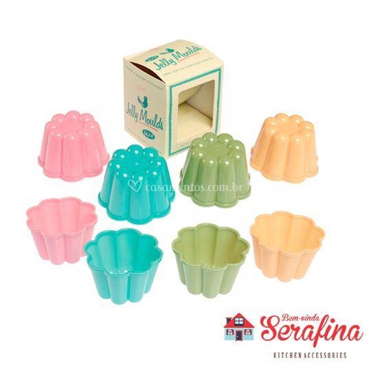Conjunto de formas para gelatinas