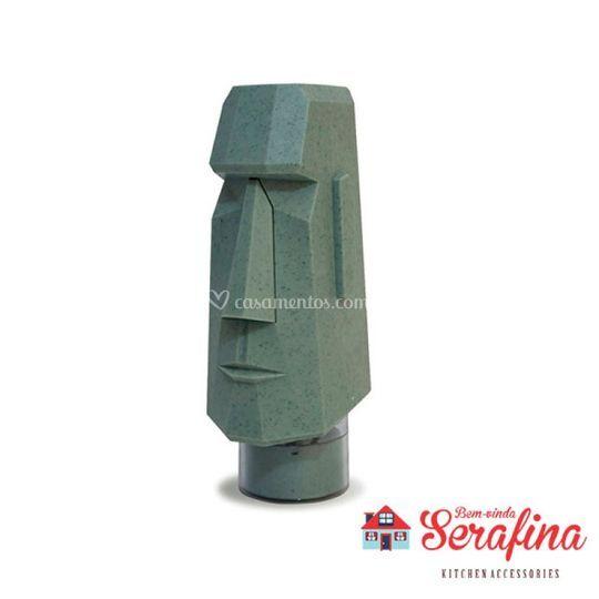 Moedor de pimenta Moai