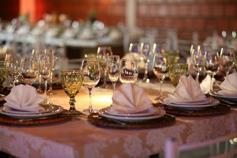 Jantar familiar mesa da famili