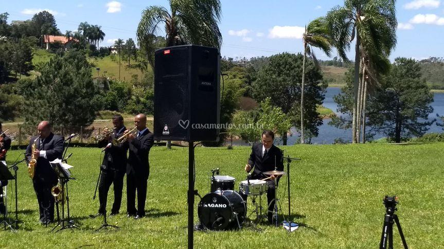 Cerimônia com Banda