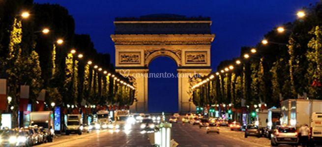 Lugares românticos - Paris