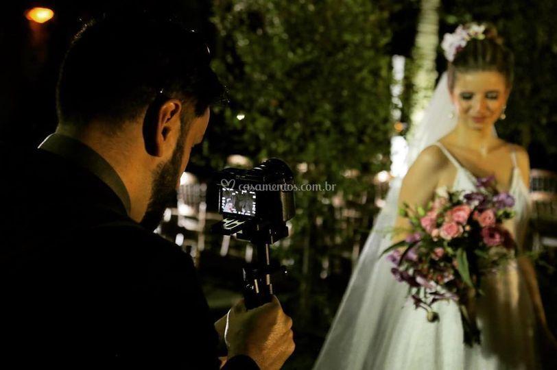 Noiva Pós cerimônia