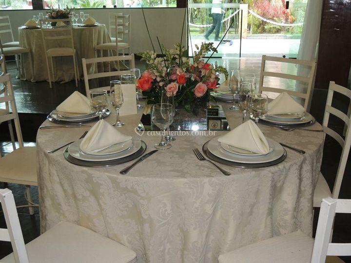 Mesa de almoço