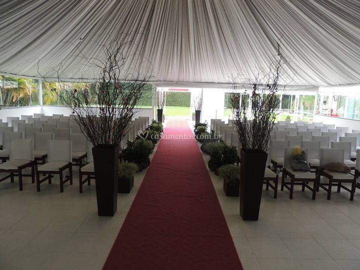 Salão da cerimônia