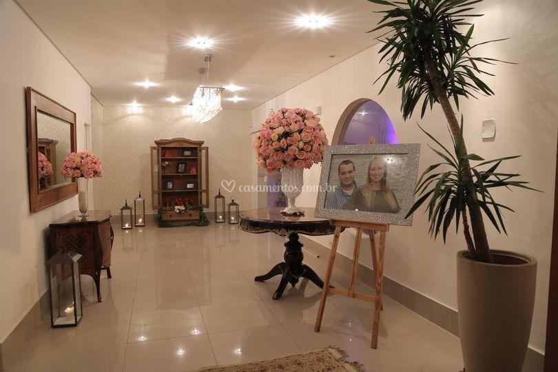 Hall de recepção monte oliveto