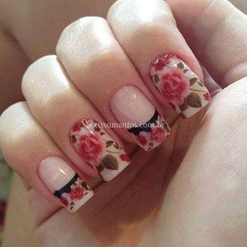 Adesivo Floral