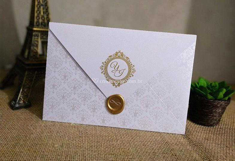 Convite de Casamento D303