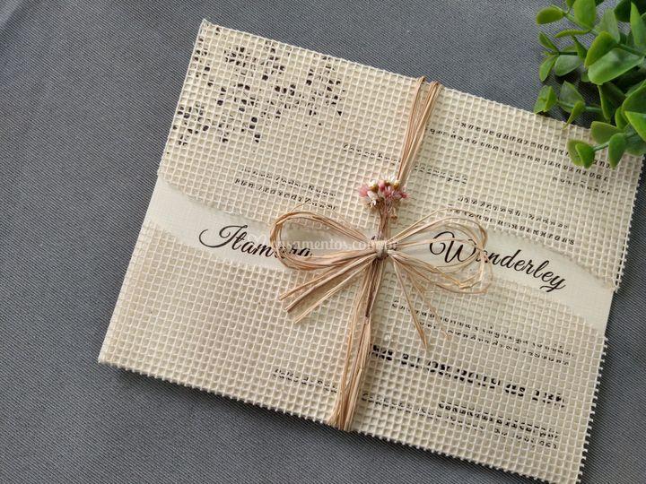 Convites de Casamento Deluxe