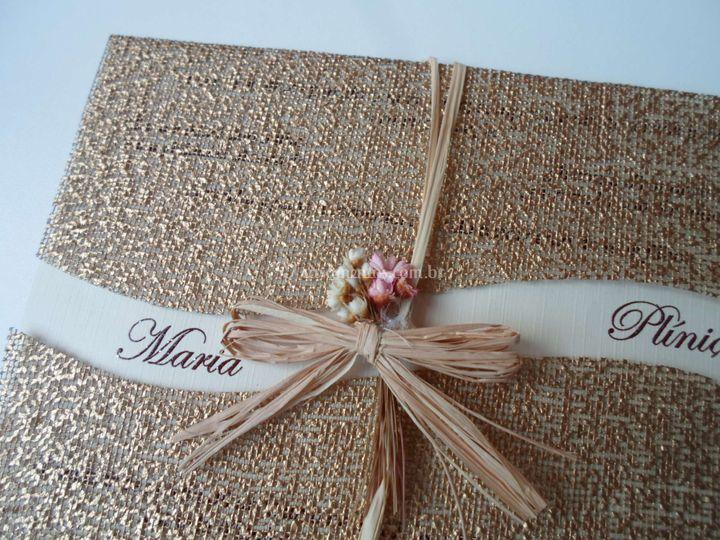 Convite de Casamento D370